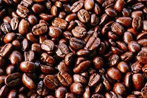 kaffebönans konsistens foto
