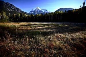 Mount Robson i vackra brittiska columbia foto