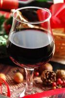 rött vin för julfest