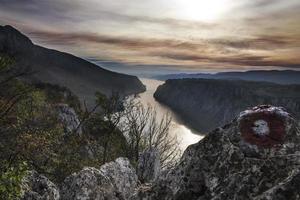 klyftor i Donau