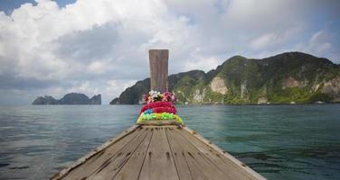 traditionell fiskebåt foto