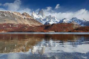 Mount Fitz Roy, Los Glaciares National Park, Patagonia foto
