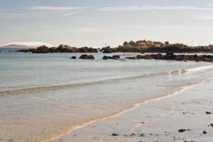 vågor på stranden
