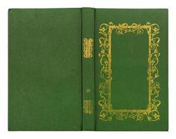 bok isolerad på vitt foto