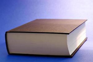 stängd bok