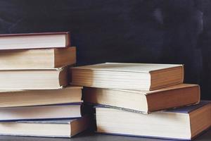 gamla böcker. foto
