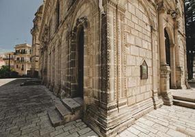 kyrka i zakynthos, Grekland foto