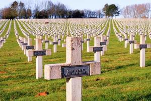 kyrkogårdens världskrig ett i Frankrike vimy la targette foto