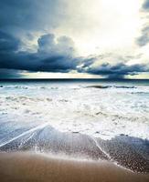 havsvågor foto