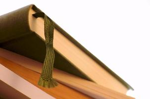 bok isolerad på vitt