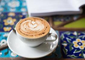 kaffe och böcker