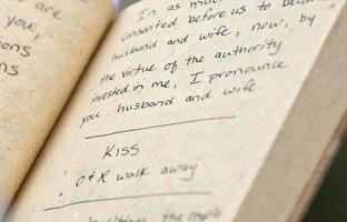 bok om bröllopslöften