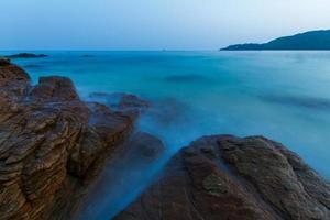 skymning havet