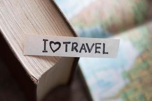text jag älskar att resa