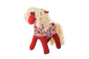 textil julgranleksaker foto