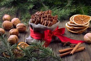 traditionella julkryddor foto