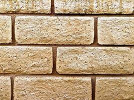 närbild av betong tegelvägg foto