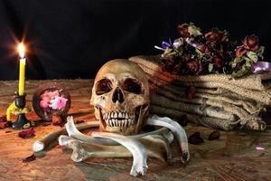 kärlek dör aldrig för hjärta och själ, stilleben foto