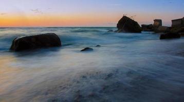 vacker havsutsikt