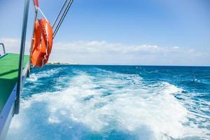 landgång av skeppshavet