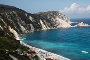 Kefalonia-stranden foto