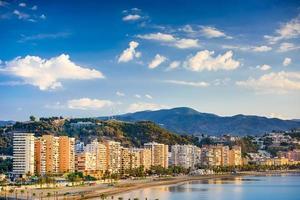 Malaga Spanien Costa del Sol