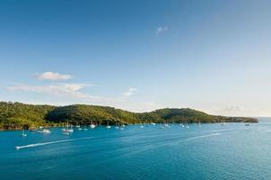 segelbåtar i Karibien