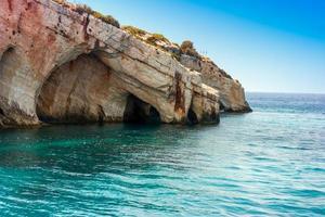 blå grottor foto