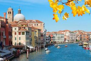 Canal Grande, Venedig, Italien foto