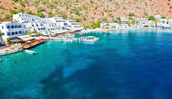 crete, loutro foto