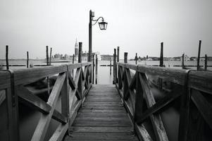 Venedigs strandpromenad