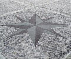 trottoar kompass ros