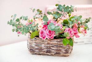 vackra rosor foto