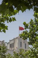 kinesisk flagga foto