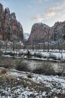zion nationalpark foto