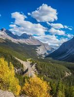 kanadensiska klippor, Banff nationalpark foto