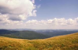 bieszczady bergen nationalpark i Polen foto