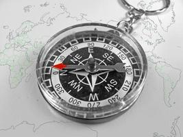 kompass, nyckelring