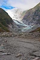 Franz Josef-glaciären i Westland National Park foto