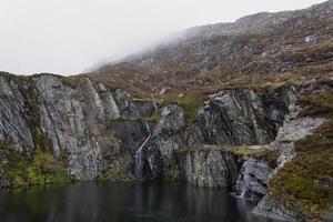 Snowdonia National Park North Wales stenbrott pool