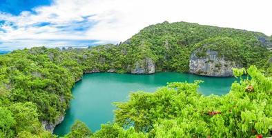 utsikt över Ang Thong National Park Island