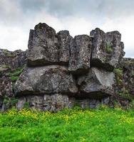 thingvellir nationalpark - känt område på Island