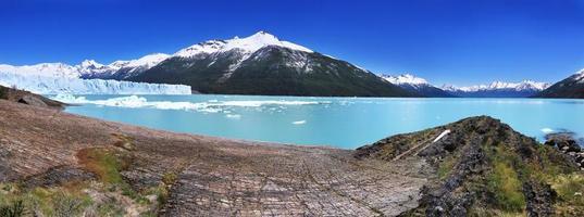 perito moreno glaciär foto