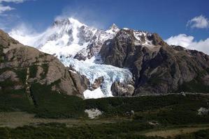 glaciär i patagonien foto