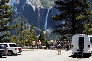 Yosemite Valley har utsikt över 3