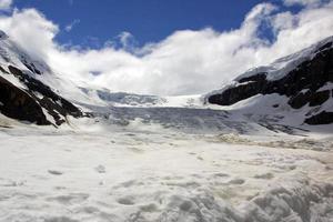 columbia icefield - athabasca glaciär