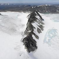 utsikt från toppen av glittertind berg (jotunheimen nation foto