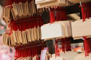 trä bön tabletter japanska foto