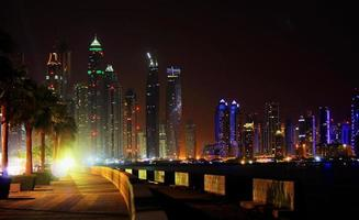 Dubai Marina Night Walk foto