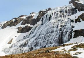 dynjandi vattenfall foto